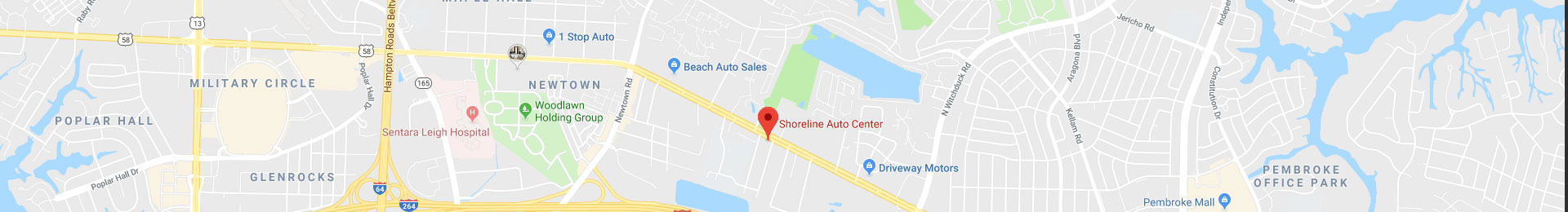 Directions to Shoreline Auto Center